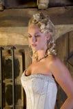 Beau blond Images libres de droits