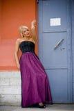 Beau blond Photo stock
