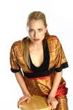 Beau blond photographie stock libre de droits