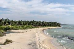 Beau bord de mer Image libre de droits
