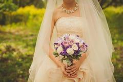 Beau bouquet de mariage Images libres de droits
