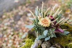 Beau bouquet de mariage Images stock