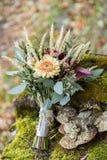 Beau bouquet de mariage Photographie stock libre de droits