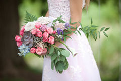 Beau bouquet de mariage Photos libres de droits