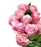 Beau bouquet des roses roses Photo libre de droits