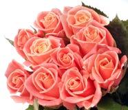 Beau bouquet des roses roses Images stock