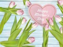 Beau bouquet des tulipes pourpres ENV 10 Photographie stock libre de droits