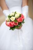 Beau bouquet nuptiale à la noce image stock