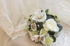 Beau bouquet nuptiale image libre de droits