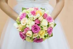 Beau bouquet nuptiale Photo libre de droits