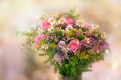 Beau bouquet - petit foyer images stock