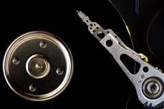Beau bourrage électronique d'unité de disque dur Photographie stock