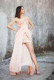 Beau brunette Photographie stock