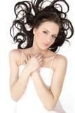 beau brunette Image libre de droits