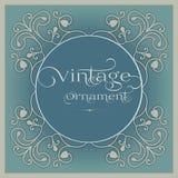 Beau cadre de vintage pour des photos Illustration Stock