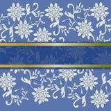 Beau cadre floral d'invitation Photographie stock libre de droits