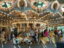 Beau carrousel Photo libre de droits