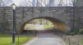 Beau Central Park New York - endroit merveilleux pour détendre MANHATTAN - NEW YORK - 1er avril 2017 Image libre de droits