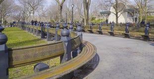 Beau Central Park New York - endroit merveilleux pour détendre MANHATTAN - NEW YORK - 1er avril 2017 Photos libres de droits