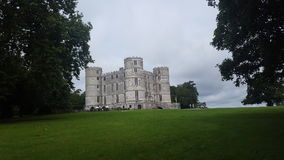 Beau château de Lulworth en Angleterre dorest photographie stock