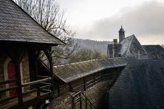 Beau château en Allemagne Image stock