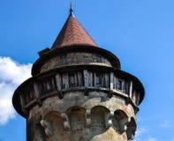 Beau château médiéval de Kreuzenstein près de Vienne image stock
