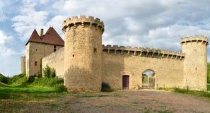 Beau château médiéval français Images libres de droits