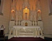 Beau changez dans la chapelle de Loretto en Santa Fe, Nouveau Mexique Photographie stock