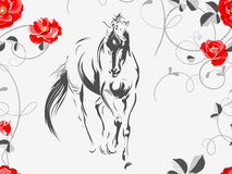 Beau cheval 02 Image stock