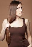 Beau cheveu Images stock