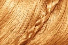 Beau cheveu rouge Images libres de droits