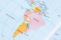 beau chiffre dimensionnel illustration trois du sud de 3d Amérique très Photographie stock