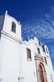 Beau chuch d'Algarve Photo stock