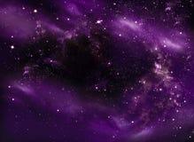 Beau ciel étoilé Photographie stock libre de droits