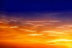 Beau ciel. Images stock