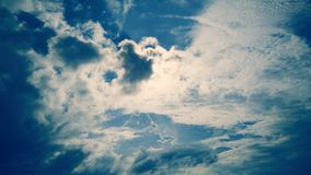 Beau ciel image libre de droits
