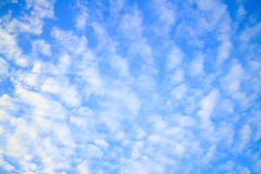 Beau ciel bleu en été Image libre de droits