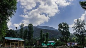 Beau ciel de Himachal Pradesh images libres de droits