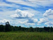 Beau ciel dense photographie stock