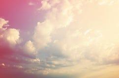 Beau ciel dramatique Photos libres de droits