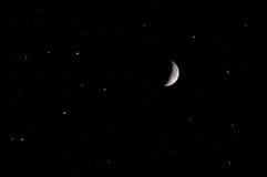Beau ciel nocturne Images libres de droits