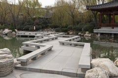 Beau complexe de VThe du palais de Huaqing - Imagen photos stock