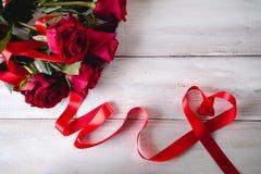 Beau concept d'amour, fond de valentine's Photos libres de droits