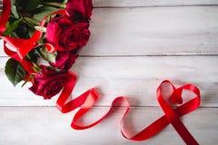 Beau concept d'amour, fond de valentine's Photo stock