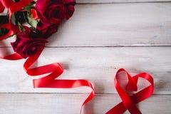 Beau concept d'amour, fond de valentine's Images libres de droits