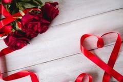 Beau concept d'amour, fond de valentine's Images stock