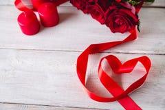 Beau concept d'amour, fond de valentine's Photo libre de droits
