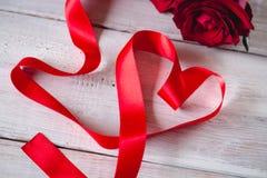 Beau concept d'amour, fond de valentine's Image stock