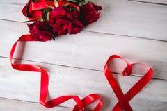 Beau concept d'amour, fond de valentine's Photos stock