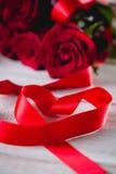 Beau concept d'amour, fond de valentine's Photographie stock